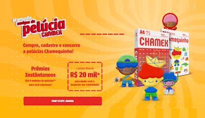 Promoção Chamex Amigos de Pelúcia