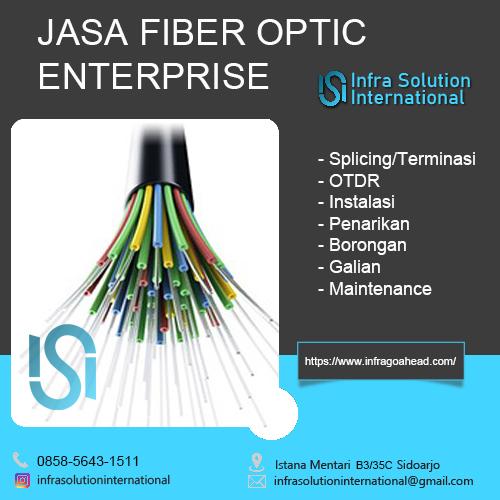 Jasa Splicing Fiber Optic Jombang Enterprise