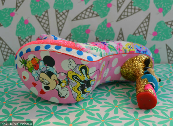 minnie mouse shoe sole