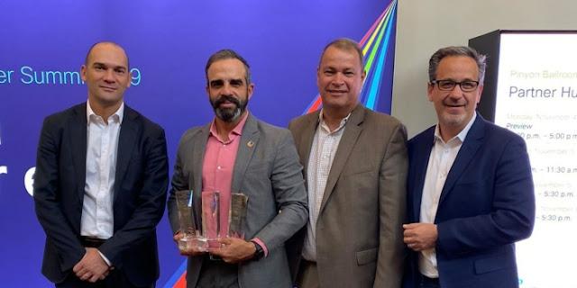 Empresa dominicana gana premio regional de ventas de tecnología