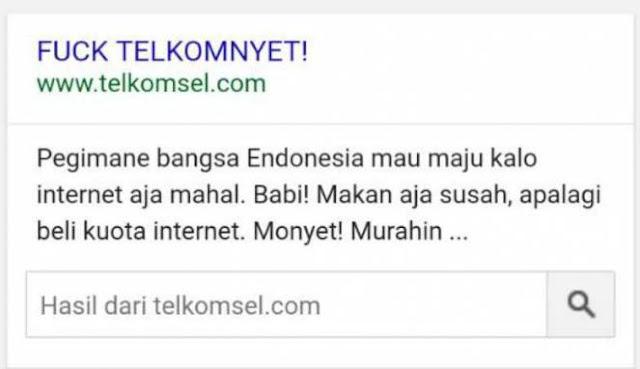 Heboh Situs Telkomsel Di Deface Oleh Hacker