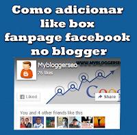 Like box no blogger sem erros