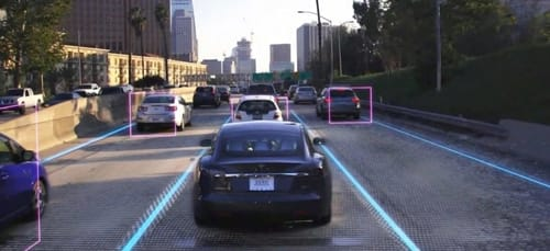The fully autonomous driving subscription is coming from Tesla