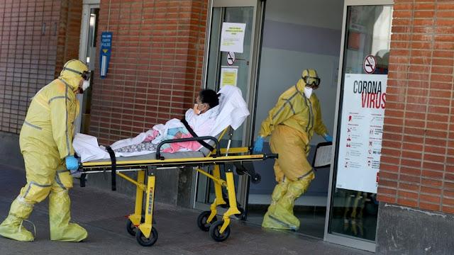 Ισπανία: 832 θάνατοι μέσα σε μία ημέρα