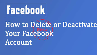 How to Deactivate Facebook Account Temporarily or Permanently
