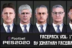 New (Manager) Facepack Vol.17 - PES 2020