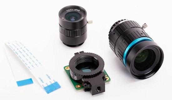 Raspberry Pi 4 lenses