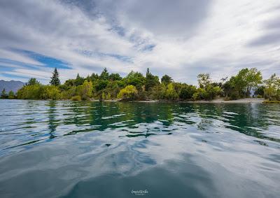 kayak, ruby island, wanaka