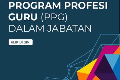 Seleksi Program PPG Mulai Dibuka Hingga 30 Januari 2020