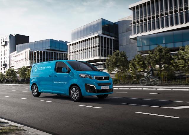 Peugeot Transporter Wasserstoff Motor