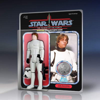 "Star Wars Luke Skywalker in Stormtrooper Gear 12"" Jumbo Vintage Kenner Action Figure by Gentle Giant"