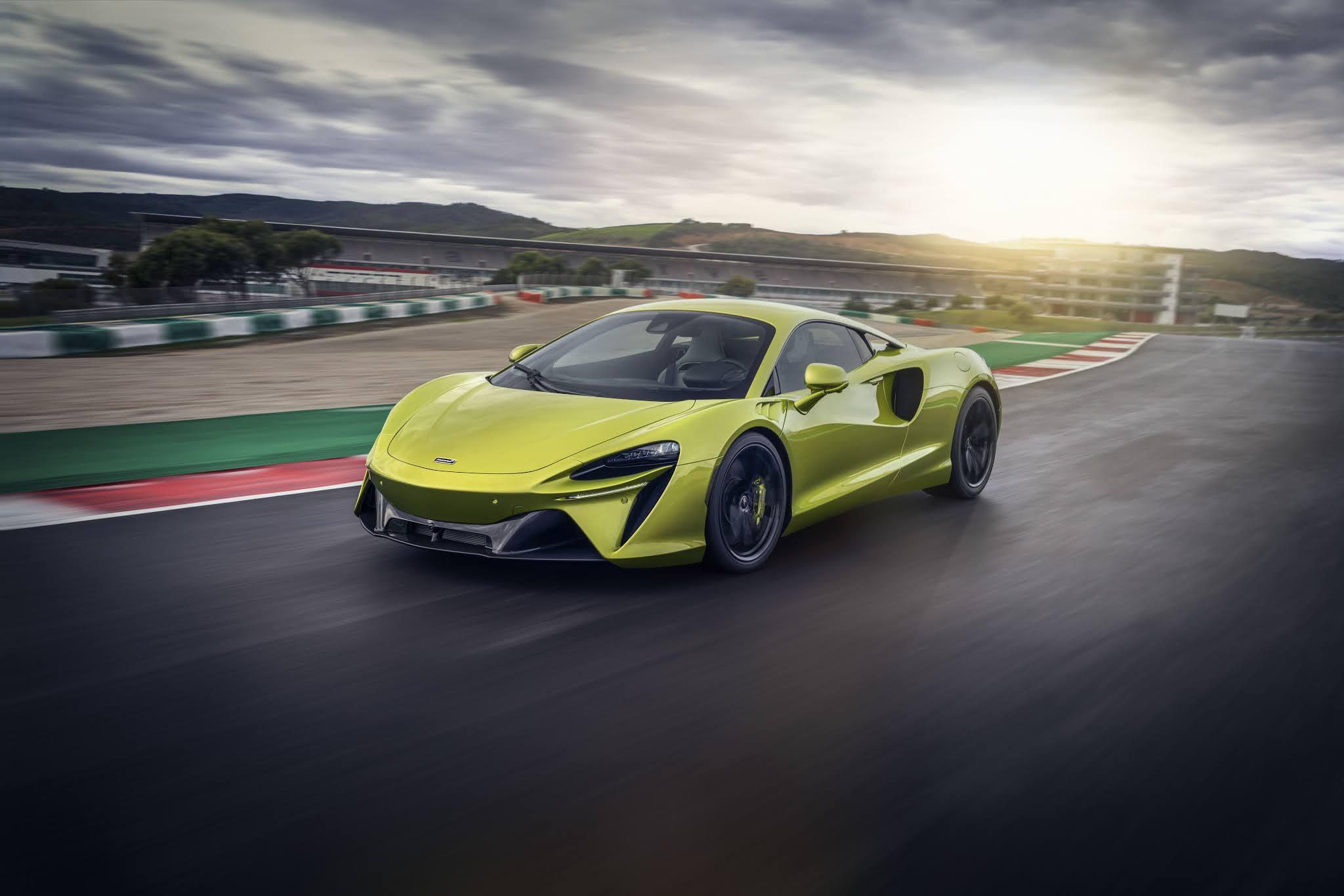 McLaren unveiled Hybrid supercar in Bahrain