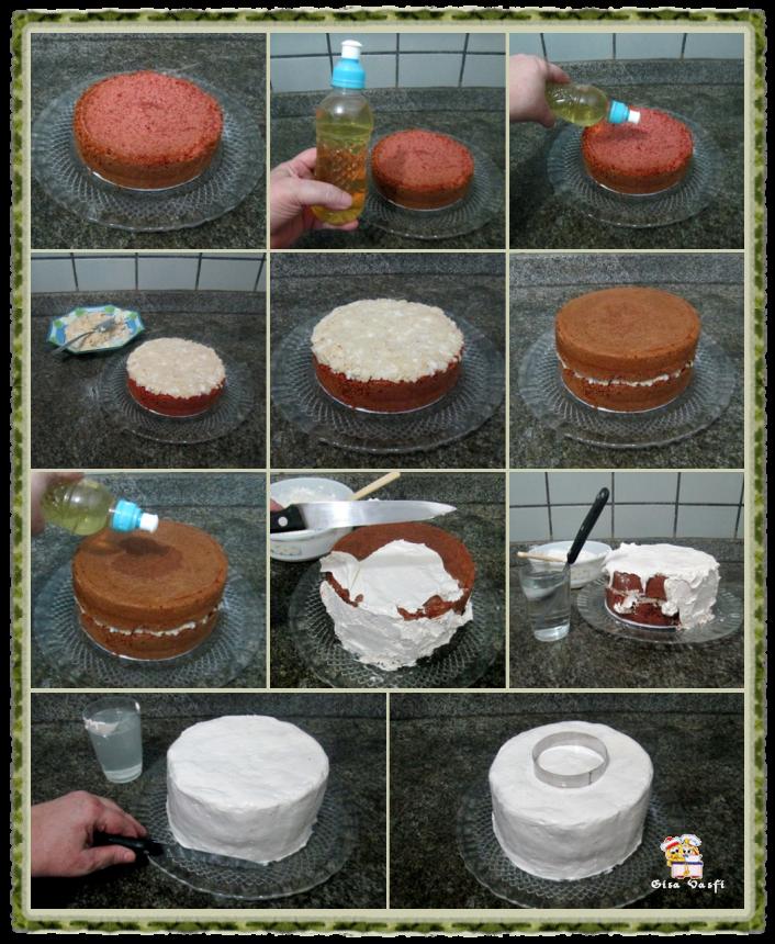Bolo e cupcake de groselha com beijinho de coco 12