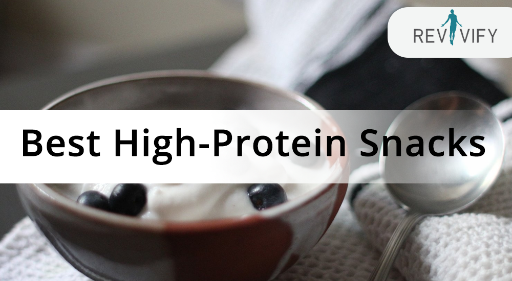 Best high-protein snacks - Magazine cover