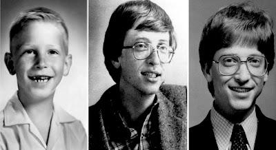 Bill Gates Childhood images