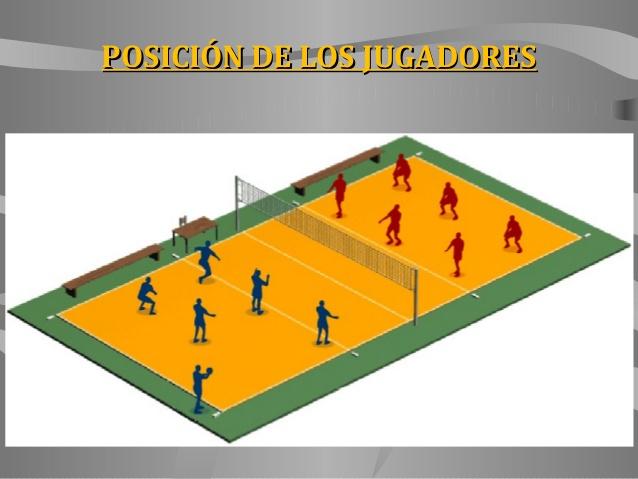 Volleyball posiciones de juego