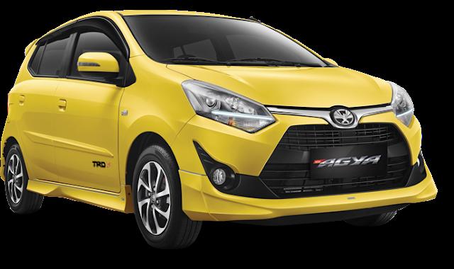Toyota New Agya Jakarta