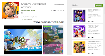 Easy To Download Creative Destruction On PC