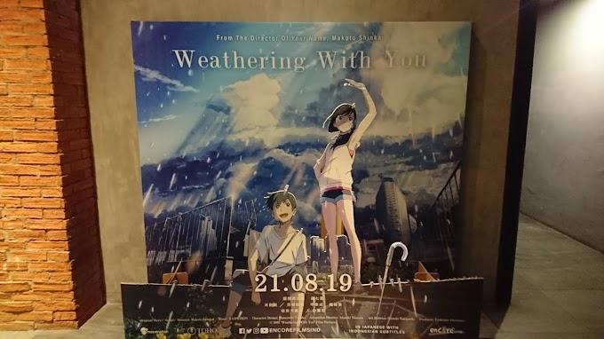 [Review Film] Tenki No Ko Kisah Si Pawang Hujan dan Jurnalis Magang (Spoiler Alert!)