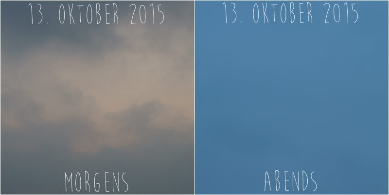 Blog + Fotografie by it's me! - Himmel am 13.10.2015