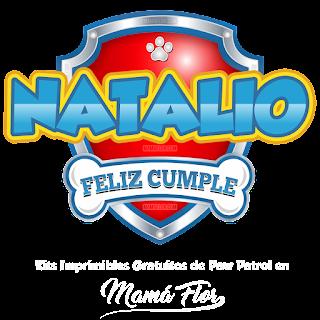 Logo de Paw Patrol: Natalio