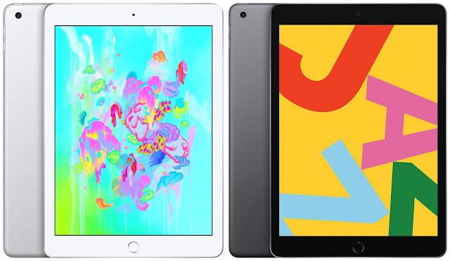 Apple iPad 9.7 (2018) vs Apple iPad 10.2 (2019)