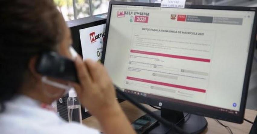 MATRÍCULA ESCOLAR 2021: Sepa cómo será el proceso y hasta cuándo hay plazo para la inscripción