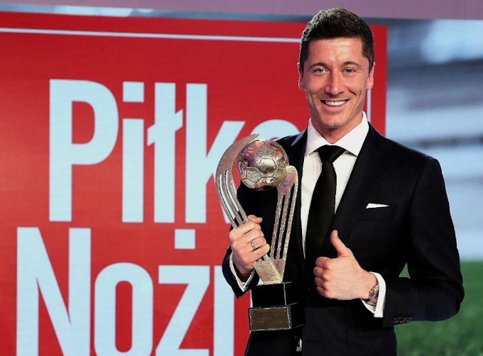 OFFICIAL: Lewandowski voted Poland's Footballer of the Year for the EIGHTH time