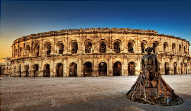 THE ARENA OF  NIMES
