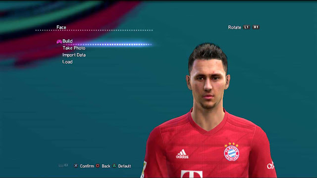 Leon Dajaku Face and Hair For PES 2013