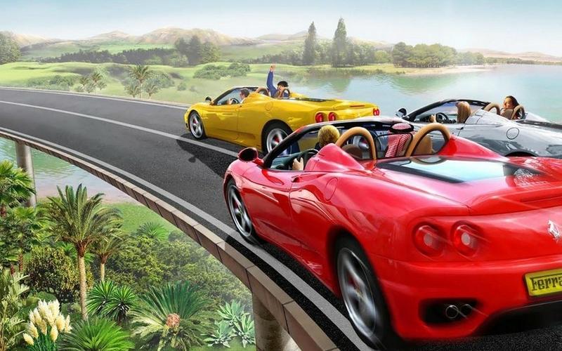 Facebook Cover Top 50 Most Dashing And Beautiful Ferrari Car