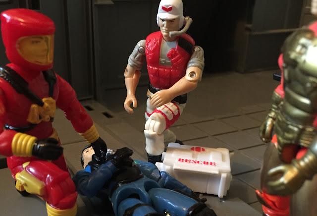 1994 Lifeline, Battle Corps, Action Pilot, 1993, Mudbuster, 1986 Wet Suit, 1984 Skyhawk, Eco Warriors, 1992, Barbecue, BBQ, Barricade, DEF, Shockwave