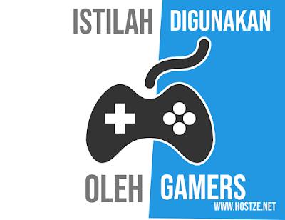 Istilah Yang Biasa Digunakan Oleh Para Gamers! - hostze.net