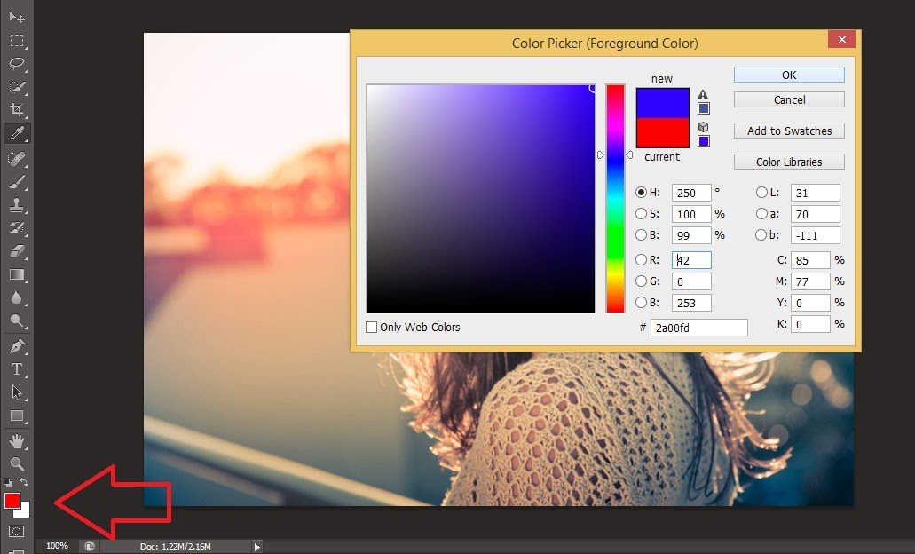 cara edit foto blur di photoshop tutorial photoshop mengubah foto ...