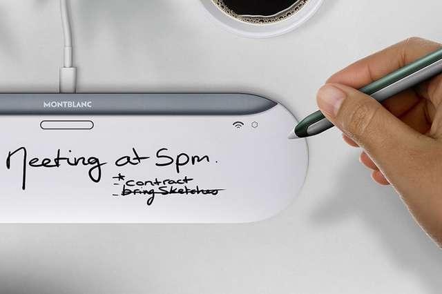 Smart pen with charging dock
