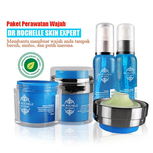 Cream Pemutih Wajah DR Rochelle Skin Expert