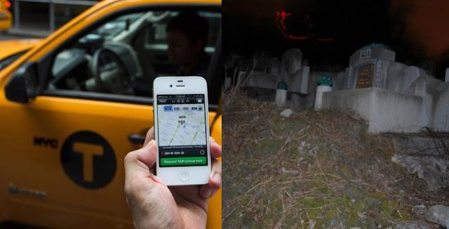 Serem! ! Kisah Sopir Taxi Uber dapat Penumpang Hantu Tengah Malam!!