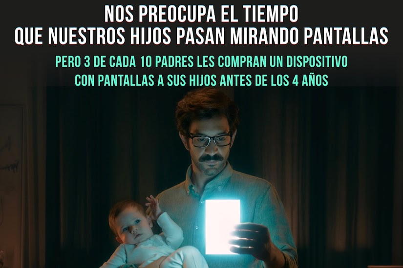 Campaña Screen Pollution de Multiópticas