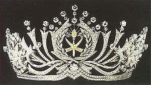 diamond state tiara pahang malaysia queen tengku ampuan afzan