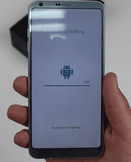 Install aplikasi setelah factory data reset