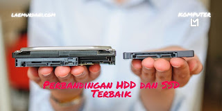 Perbandingan HDD dan SSD Terbaik