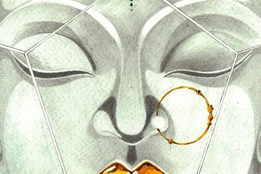 Ilustración, Buddha! de Miriam CX