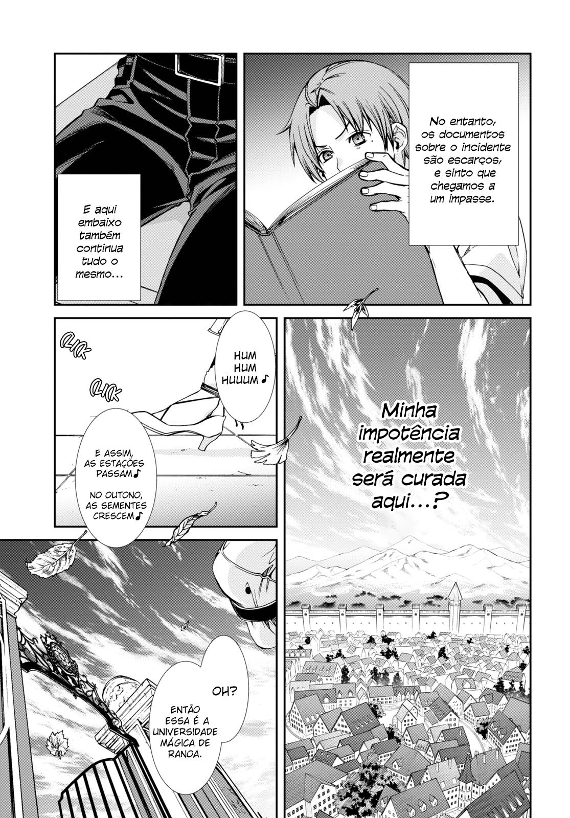 Mushoku Tensei: Isekai Ittara Honki Dasu / Mushoku Tensei: Jobless Reincarnation Mangá Online Capítulo 64 em Português