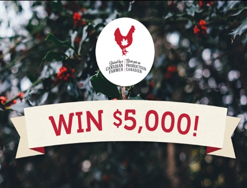 Canada's Chicken Farmers Holiday Helper Contest