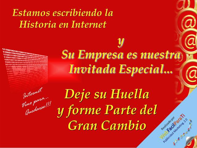 Deja Tu Huella en Internet