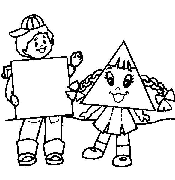 desenhos das formas geométricas para colorir atividades pedagógicas