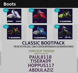 PES 2021 Classic Bootpack by Torisesan