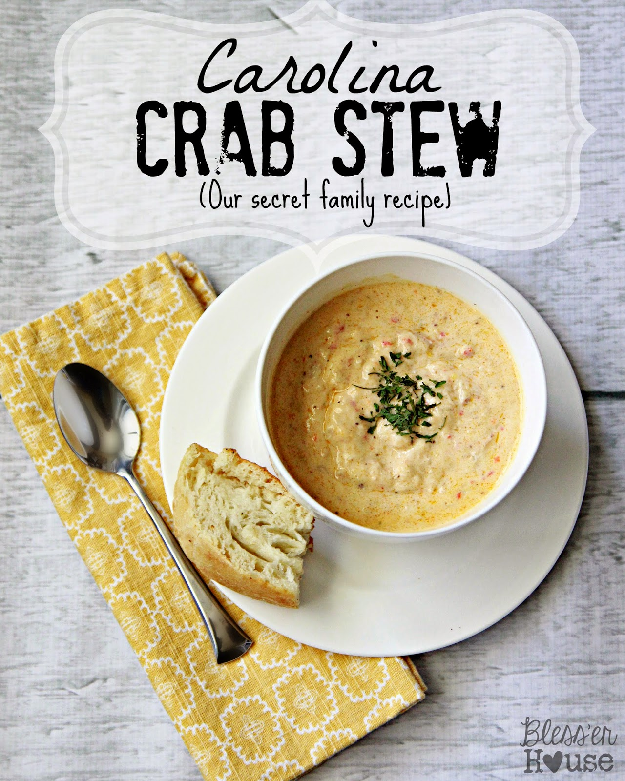Bless'er House | Carolina Crab Stew
