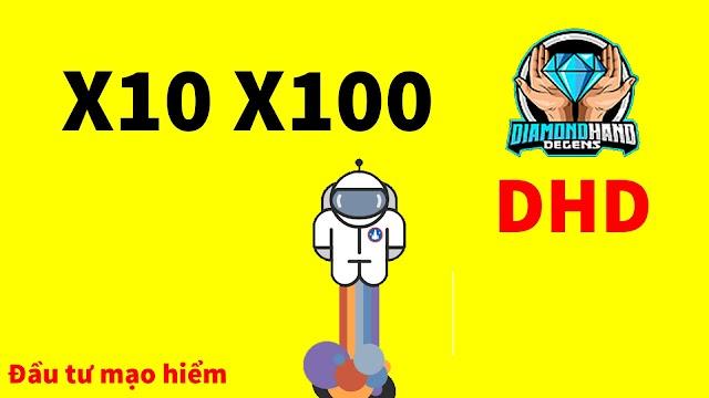 Tiền điện tử DHD Token - Kèo coin rác mới nhất mạo hiểm x10 x100