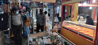 Patroli Sasar Toko Emas Di Pasar Sudu Pastikan Aman Jelang Idul fitri